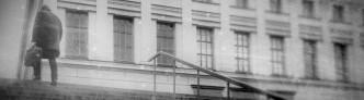 Treppen vor dem Uniplatz