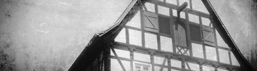 Fachwerkhaus in der kleinen Ulrichstraße