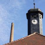 Uhrenturm des Halloren- und Salinemuseums