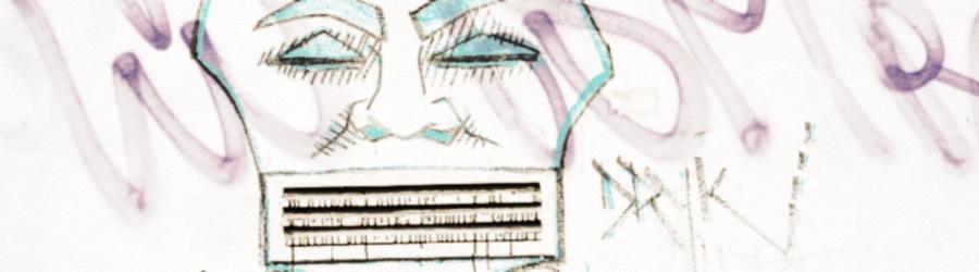 Street Art Gesicht