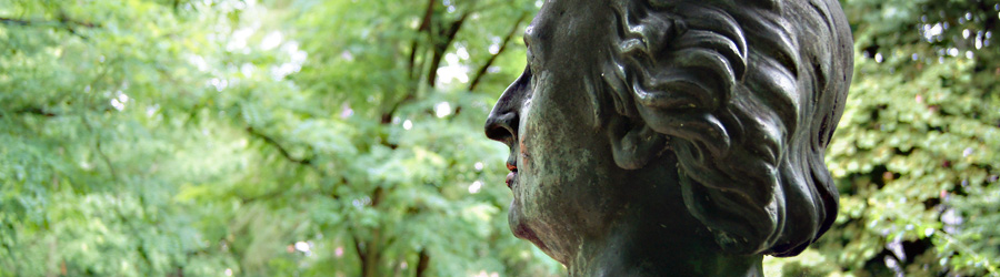 Büste im Reichardtsgarten