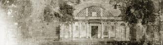 Eingang des Landesmuseums für Vorgeschichte